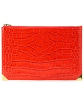 Alexander Wang PRISMA FLAT EMBOSSED POUCH
