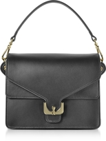Coccinelle Ambrine Black Leather Satchel Bag