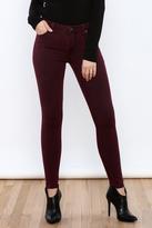 just black Dyed Denim Pants