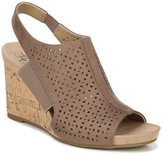 LifeStride Hazel Women's Slingback Wedge Sandals