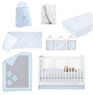 Pam Grace Creations Medallion 10 Piece Crib Bedding Set Bedding