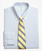 Brooks Brothers Non-Iron Madison Fit Triple Overcheck Dress Shirts
