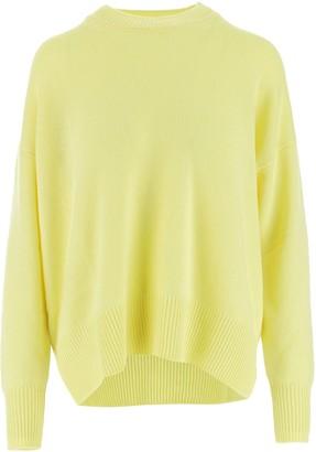 Jil Sander Oversized Ribbed Crewneck Sweater