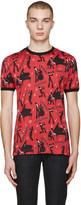 Dolce & Gabbana Red mambo T-shirt