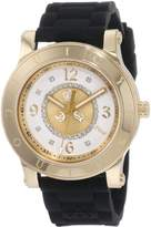 Juicy Couture Women's 1900833 HRH Black Jelly Strap Watch