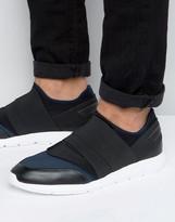 Calvin Klein Senior Elastic Strap Sneakers