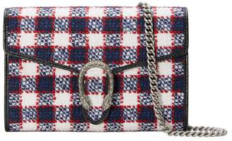 Gucci Dionysus Tweed Mini Chain Bag