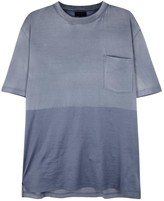 Lanvin Two-tone Cotton T-shirt