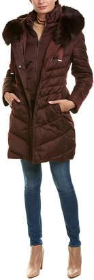 Tahari Jolene Puffer Down Coat