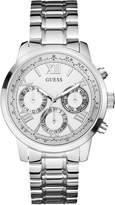 GUESS Silver-Tone Feminine Classic Sport Watch