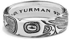 David Yurman Northwest Sterling Silver Band Ring
