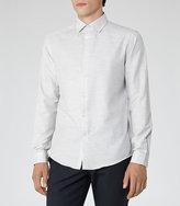 Reiss Jose Slim Melange Shirt