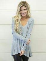 Free People Malibu Thermal in Silver