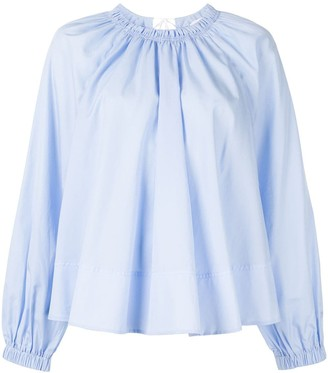 CK Calvin Klein gathered blouse