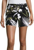Liz Claiborne 5 Knit Chino Shorts