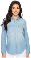Calvin Klein Jeans Basic Denim Shirt Women's Long Sleeve Button Up
