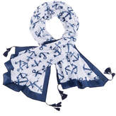 Mud Pie Nautical Scarf