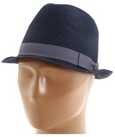 San Diego Hat Company FBS1002 Classic Fedora (Navy) - Hats