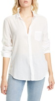 Frank And Eileen Cotton Voile Button-Up Shirt