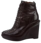 Givenchy Wedge Ankle Boots