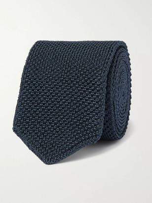 Ermenegildo Zegna 6.5cm Knitted Silk Tie