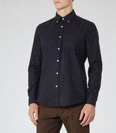 Reiss Emerick Flecked Slim Shirt