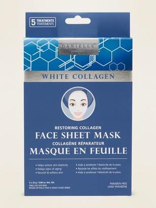 Danielle Creations White Collagen Face Sheet Mask