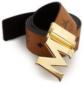 MCM Visetos Round Reversible M Belt
