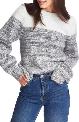 1 STATE 1.STATE Marled Stripe Sweater