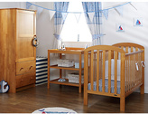 O Baby OBaby Lily Furniture & Bedding Set - Country Pine