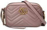 Gucci mini GG Marmont matelassé shoulder bag - women - Leather/metal - One Size
