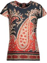 Etoile Isabel Marant Printed Cotton-Broadcloth Top