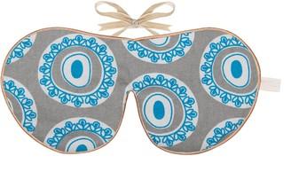 Holistic Silk Limited Edition Eye Mask Tallentire House Byzantine Blue