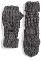 Hinge Women's Textured Stitch Pop Top Mittens