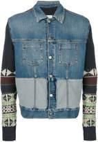Maison Margiela Navajo sleeve denim jacket
