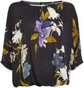 Biba Volume printed floral blouse