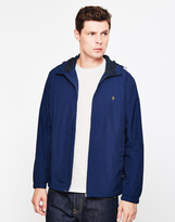 Farah Newbern Hooded Jacket Navy