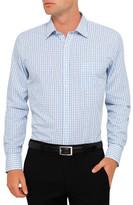 Van Heusen Blue Check Slim Fit Shirt