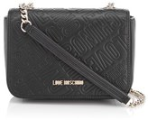 Love Moschino Women's Love Mini Printed Shoulder Bag Black