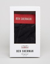 Ben Sherman Gift Box Red Trunk And Sock Set