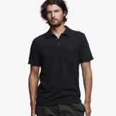 James Perse Brushed Jersey Pocket Polo