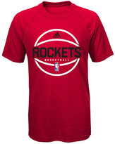 adidas Boys' Houston Rockets Practice Wear Ultimate T-Shirt
