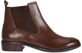 Jane Debster Leonard Brown Glove Boot