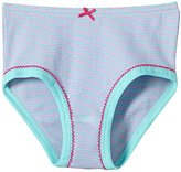 Schiesser girl hipster toddlers striped panties with bow - Pink - -
