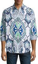 Robert Graham Coulter Pine Paisley Woven Shirt, Multi