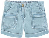 Chloé Mini Me velvet shorts