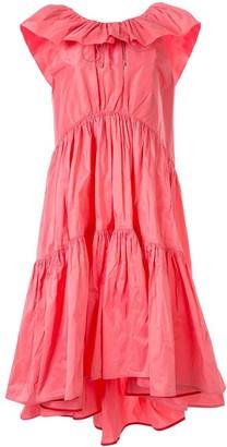 Roksanda Ruffled Tafetta Dress