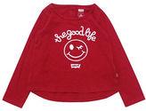 Levi'S Logo Print Jersey Sweatshirt