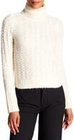 Elizabeth and James Naba Cropped Turtleneck Sweater