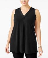 Alfani Plus Size V-Neck Tunic, Created for Macy's
